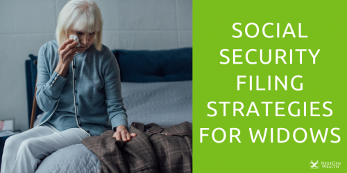 social security filing strategies for widows
